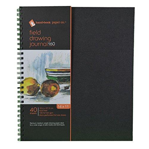 Global Art Materials Field Drawing 160 Artist Journal Han...