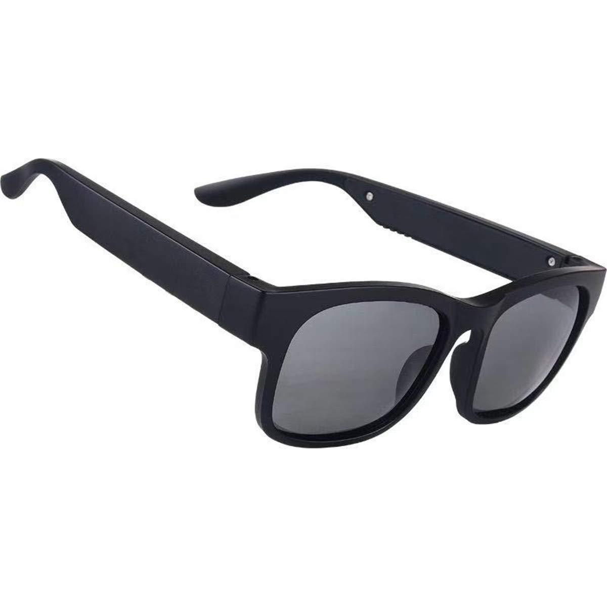 AOHOG Smart Bluetooth 5.0 Stereo Headset Outdoor Sunglasses Waterproof IP7 Wireless Music Glasses