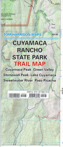 Cuyamaca Rancho State Park Trail Map (Tom Harrison Maps)