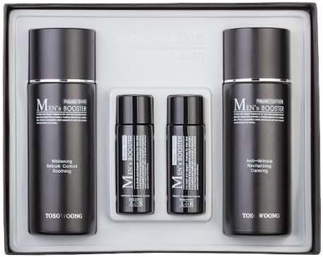 KOREAN COSMETICS, TOSOWOONG_ Men's Booster 2-piece set.(Men's Booster Skin 150ml + Men's Booster Emulsion 150ml) (whitening / anti-wrinkle functional, elastic, moisturizing)[001KR]