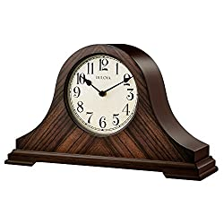 Bulova Clocks Norwalk, Walnut Finish