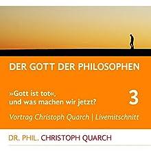 Der Gott der Philosophen (