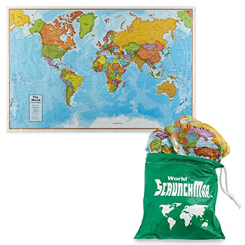 World Scrunch Map for sale  Delivered anywhere in USA
