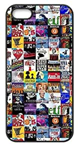 Broadway Collage Hard Case for Iphone 5/5S Caseiphone 5/5S-1703