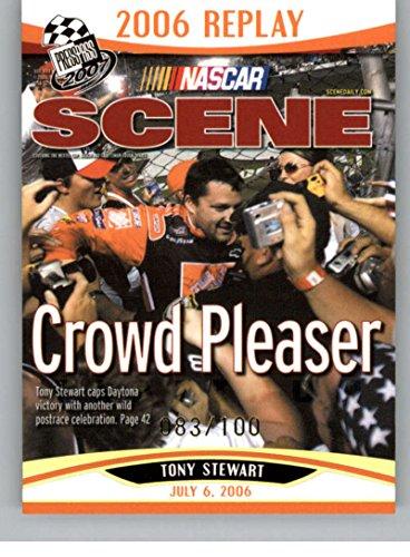 2007 Press Pass Platinum #P91 Tony Stewart NS NM-MT -