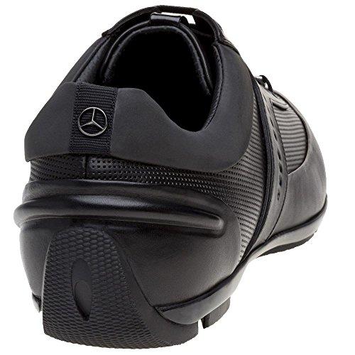 Salida Últimas Colecciones Boss Sporty Low Mercedes Benz Collection Uomo Sneaker Nero Nero Buena Venta De Salida hLG1gW