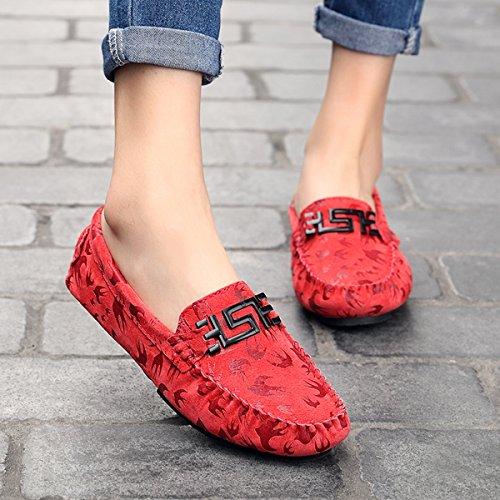 Miyoopark - zapatilla baja mujer Red