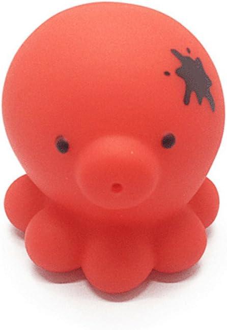 Jouets de bain Chickwin 5pcs Animaux Baby Bathing Jouets en caoutchouc souple Jouets pour enfants
