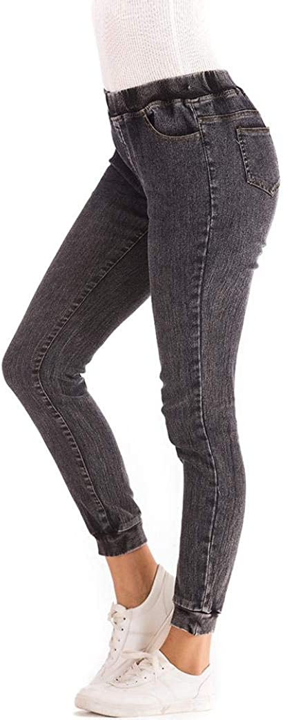 MORCHAN ❤ 2018 Femmes Automne /élastique Plus Denim l/âche Occasionnels Jeans recadr/és Combinaisons Collants Pantalon Courts Leggings Knickerbockers