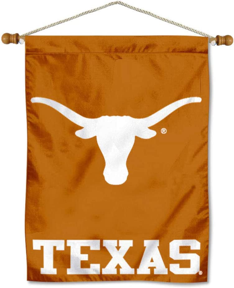 College Flags & Banners Co. Texas Longhorns Banner with Hanging Pole