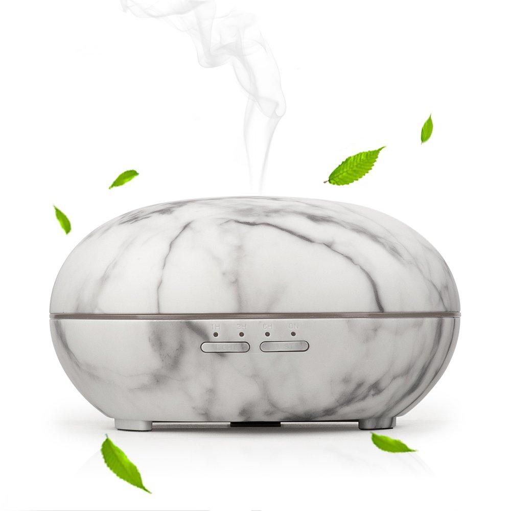 Essential Oil Diffuser,Olssda 300ml Cool Mist Humidifier Ultrasonic Aroma Essential Oil Diffuser with 7 Color LED Lights for Office Home Bedroom Fitness Room Study Yoga Spa