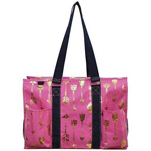 Pink Weekender Diaper Bag - NGIL All Purpose Organizer 18