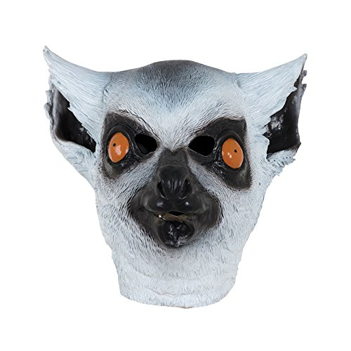 Bristol Novelty BM533 Lemur Mask, One Size