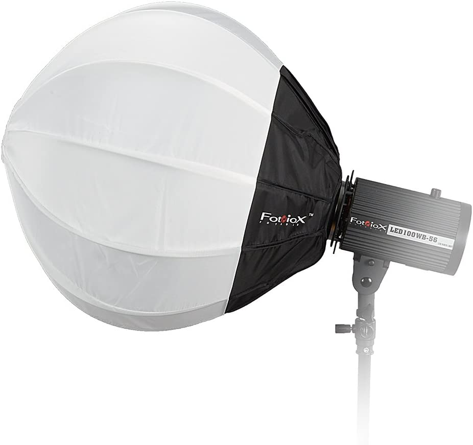 Fotodiox Lantern Softbox 20in Yongnuo Speedlites and More Globe Canon 50cm Collapsible Globe Softbox with Flash Speedring for Nikon