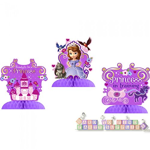 Sofia the First Mini Centerpieces (3ct)