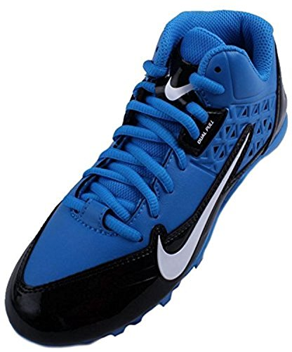 Nike ALPHA STRIKE 3/4 TD Mens Football Cleat, Photo Blue/Black/white, 46 D(M) EU/11 D(M) UK