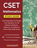 CSET Mathematics Study Guide I: Subtest I: Algebra and ...