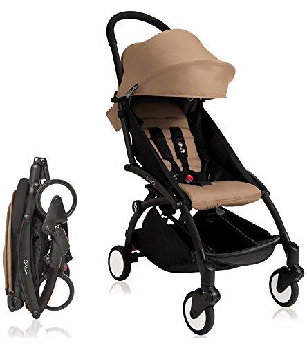 Find Cheap BabyZen 2017 Yoyo + Stroller Black Frame (Taupe)