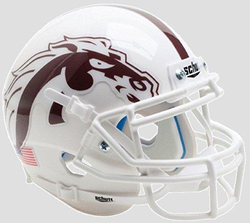 Western Michigan Broncos Alternate White Mask Schutt Authentic Mini - Michigan Mask
