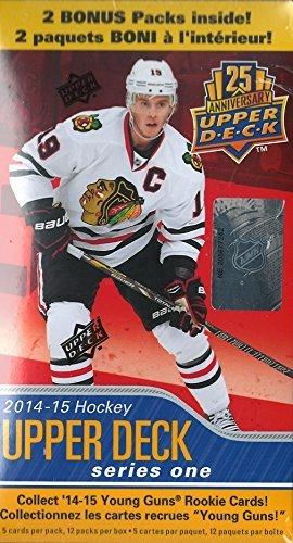 2014 2015 Upper Deck NHL Hockey Series One Factory Sealed Unopened Blaster Box of 12 Packs