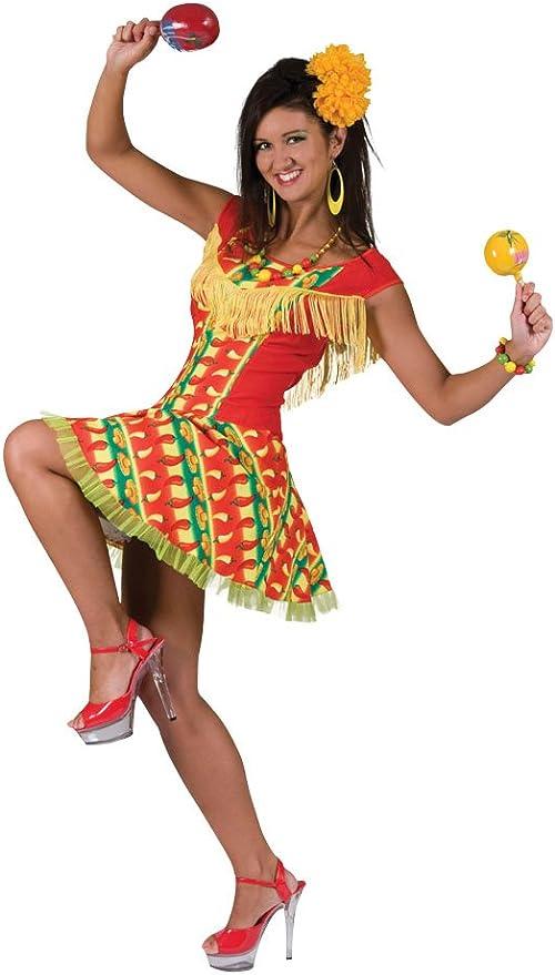 Bristol Novelty AC278 Traje Vestido de mujer Mejicana: Amazon.es ...