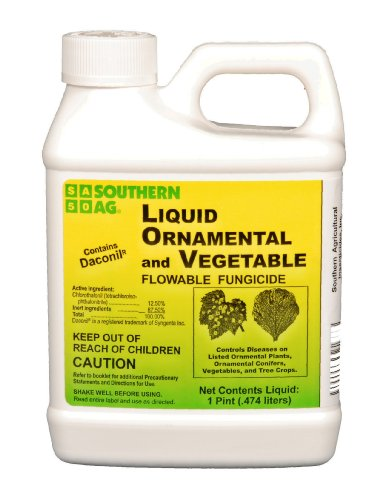 - Southern Ag Liquid Ornamental, Tree & Vegetable Fungicide, 16 OZ