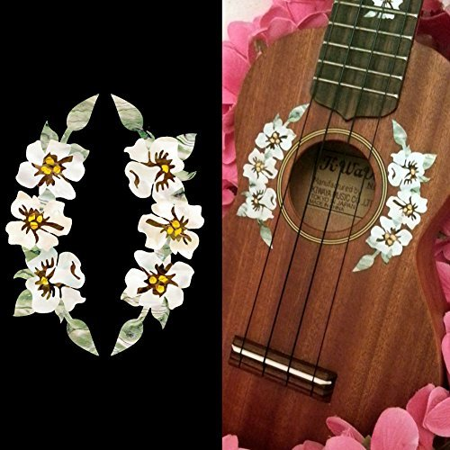 Ukulele inlay stickers flower buyer's guide