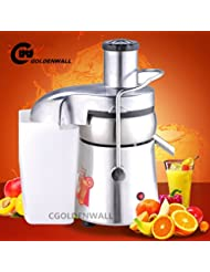 WF A6000 Commercial Multifunctional Juice Extractor Stainless Steel Juicer Juice Machine Juicing Machine Centrifugal Juicer Fruit And Vegetable Juicer Juice Squeezer 550W 2800r Min 80 100kg H