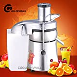 WF-A8000 Commercial multifunctional Juice Extractor stainless steel Juicer Juice Juicing machine Centrifugal Juicer Fruit and Vegetable juice squeezer slag juice separator 370W 2800r/min 60-70kg/h