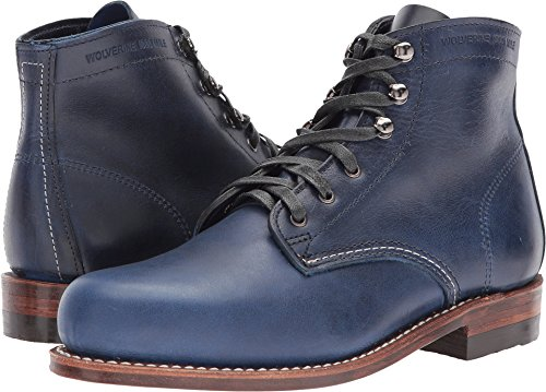 Wolverine Women's Original 1000 Mile Boot Dark Blue Leather 9 B US (Dark Blue Leather Boots For Women)