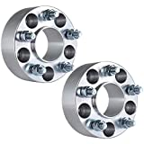 """ECCPP 5 LUG Hubcentric Wheel Spacers 50mm 2"""" 2X 5x4.5 to 5x4.5 5x114.3 to 5x114.3 Wheel Spacers For Ford Mustang Mach 1 Crown Victoria Edge Ranger Explorer Lincoln Town Car Mercury Mountaineer"""