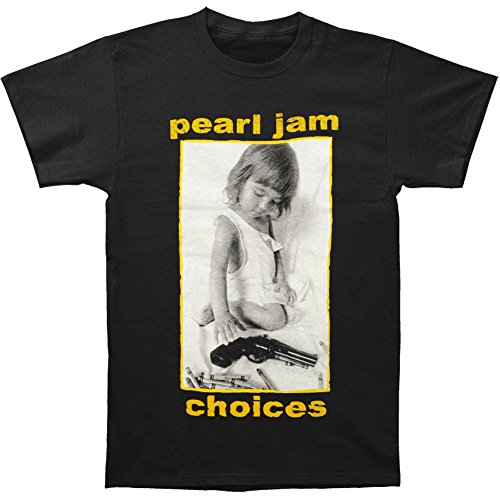 Tsurt TSU-1178-XL Pearl Jam Choices T-Shirt - Black - XL