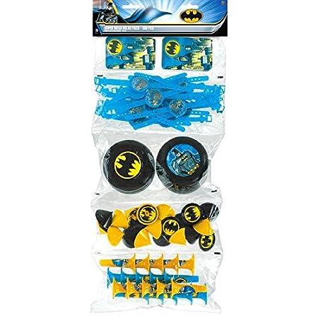 American Greetings Batman Paper, Dinner Plates, 40-Count American Greetings- Toys 5951832