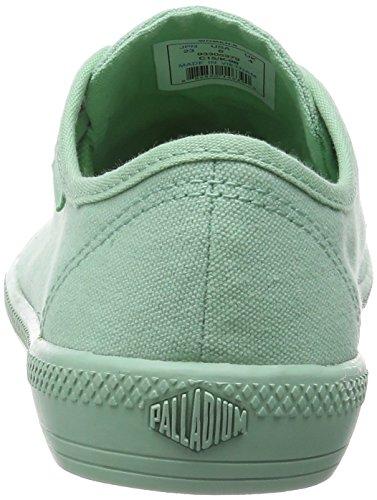 Palladium FLEX LACE M - zapatilla deportiva de lona mujer Pistacho