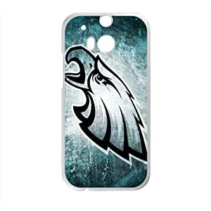 Happy Philadelphia Eagles Hot Seller Stylish Hard Case For HTC One M8
