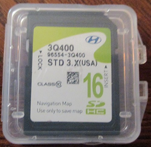 3Q400 2013 2014 Hyundai Sonata Navigation MAP Sd Card ,GPS U
