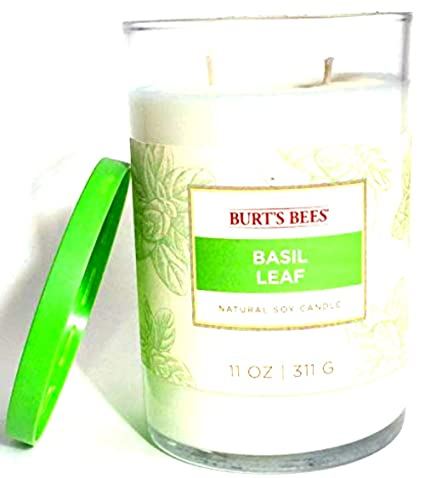 334a4ee03 Burt s Bees Natural Soy Basil Leaf 11 OZ Candle by Burt s Bees ...
