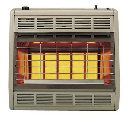 - Empire Infrared Heater Natural Gas 30000 BTU, Manual Control 3 Settings