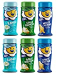 Kernel Season's Popcorn Seasoning Variety Pack of 6 Ranch Parmesan & Garlic and White Cheddar