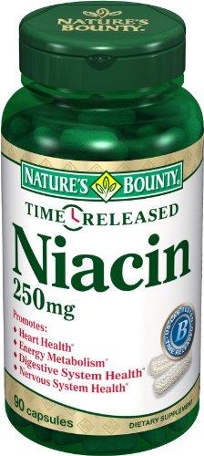 Temps Bounty Nature Sortie Niacine 250 mg., 90 capsules