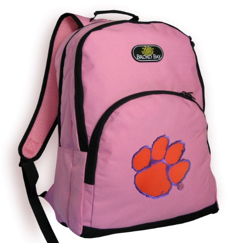 Clemson Backpack CUTE PINK Clemson Tigers Bag OFFICIAL NCAA