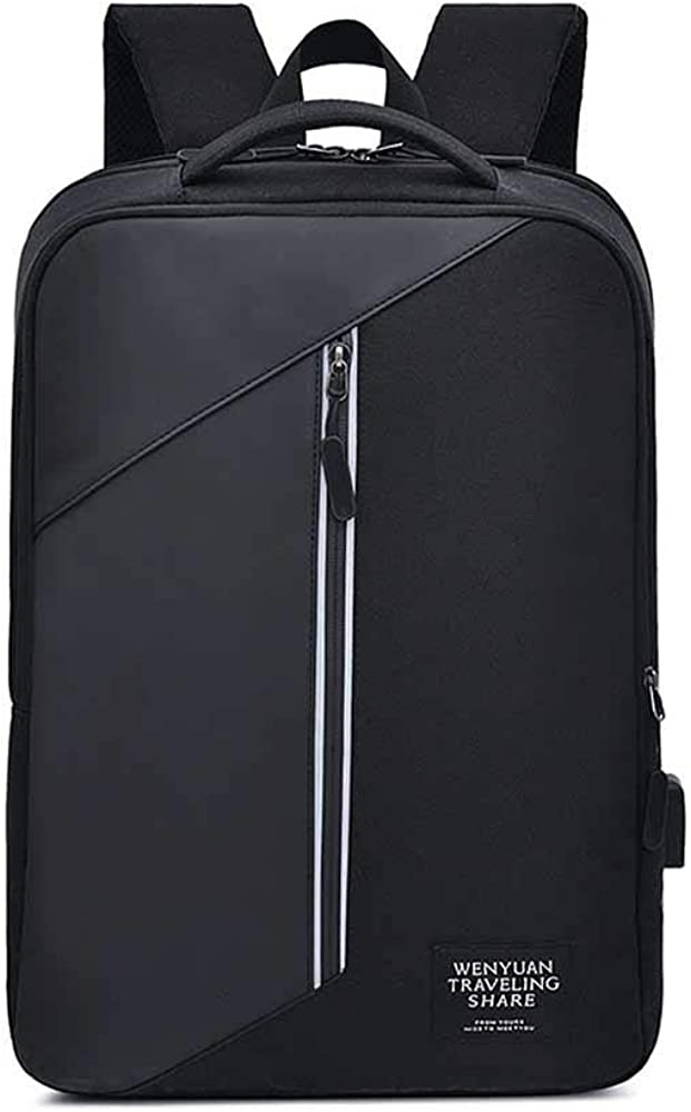 Laptop Backpack Large Capacity With Usb Waterproof Travel Student Backpack