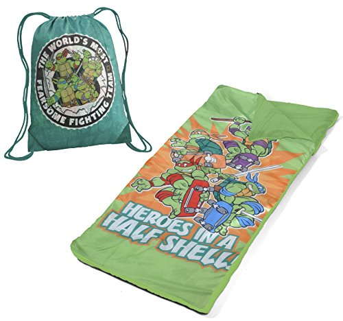Nickelodeon WN340342 Ninja Turtles Toddler Nap Mat with Carry On Bag by Nickelodeon
