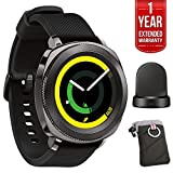 Best Samsung Camera With Gps - Samsung Gear Sport Fitness Watch - Black (SM-R600NZKAXAR) Review
