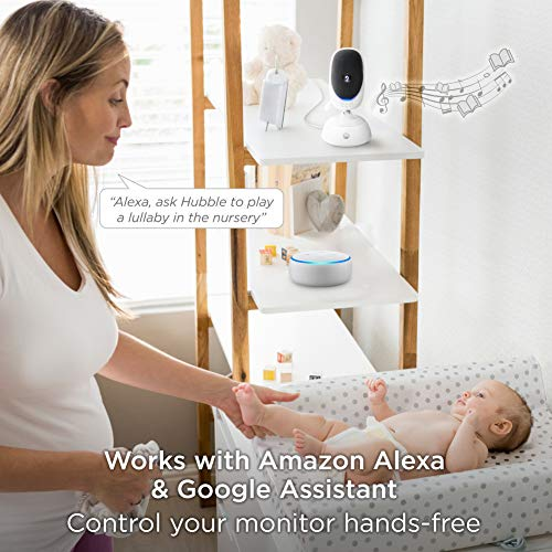 Motorola Connect40 Wireless Security Camera - Family Video Intercom Communication System - Infant, Elderly, Pet Monitor - App, WiFi, Voice Assistant-Enabled With Digital Pan, Zoom, Tilt, Night Vision