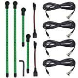 Yak-Power YP-LEDK-G4 Complete 4-piece LED Light Kit (Green)