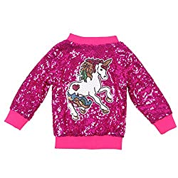 Girl's Unicorn Sequin Jacket