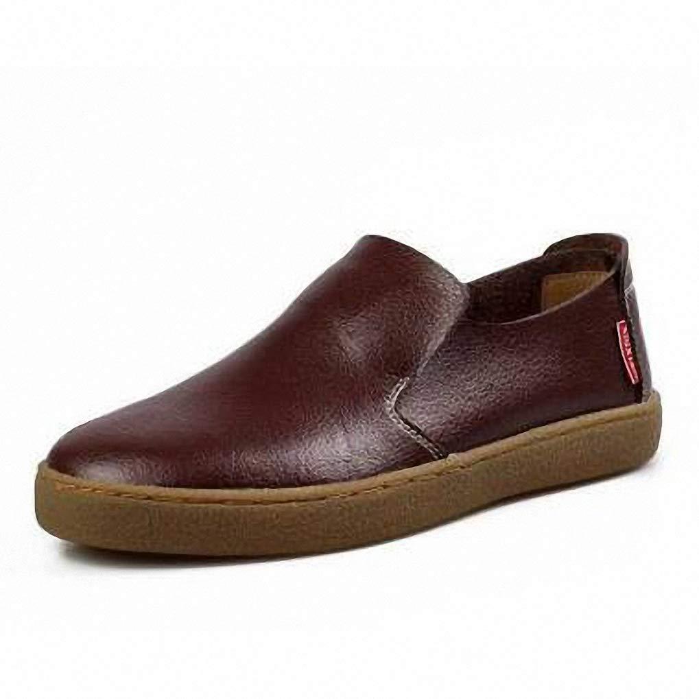 Starttwin Oxford Shoes Men Brogues Wear Resistance Business Dress Formal Shoes