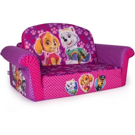 Amazon Com Marshmallow 2 In 1 Flip Open Sofa Paw Patrol Pink