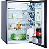 Avanti Black 4.4 Cubic Foot Counterhigh Refrigerator